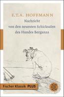 E. T. A. Hoffmann: Nachricht von den neuesten Schicksalen des Hundes Berganza