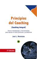 Jose Luis Menéndez: Principios del coaching