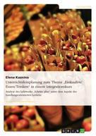 """Elena Kaznina: Unterrichtsfeinplanung zum Thema """"Einkaufen/ Essen/Trinken"""" in einem Integrationskurs"""