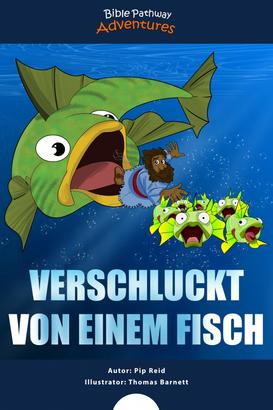 Verschluckt von einem Fisch