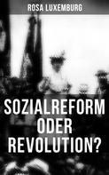 Rosa Luxemburg: Sozialreform oder Revolution?