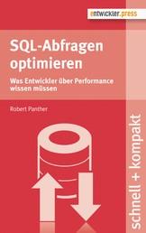 SQL-Abfragen optimieren - Was Entwickler über Performance wissen müssen