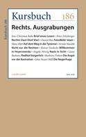 Armin Nassehi: Kursbuch 186