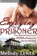 Melody Lewis: Enjoying the Prisoner - A Sexy Historical Victorian-Era Gay M/M BDSM and Bondage Erotic Story from Steam Books