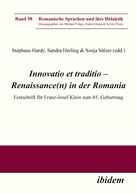 Stéphane Hardy: Innovatio et traditio – Renaissance(n) in der Romania