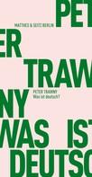Peter Trawny: Was ist deutsch? ★★★★