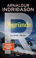 Arnaldur Indriðason: Abgründe ★★★★