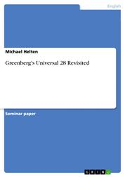 Greenberg's Universal 28 Revisited