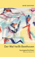 René Sommer: Der Wal heisst Beethoven