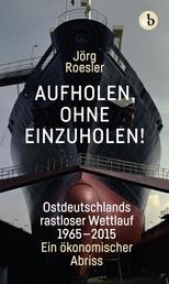 Aufholen, ohne einzuholen! - Ostdeutschlands rastloser Wettlauf 1965-2015. Ein ökonomischer Abriss