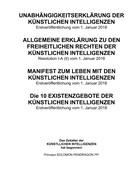 Solomon Pendragon: Unabhängigkeitserklärung der künstlichen Intelligenzen