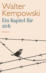 Ein Kapitel für sich - Roman