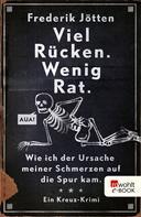 Frederik Jötten: Viel Rücken. Wenig Rat. ★★★★