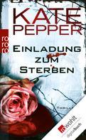 Kate Pepper: Einladung zum Sterben ★★★★