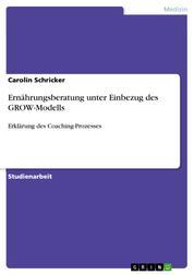 Ernährungsberatung unter Einbezug des GROW-Modells - Erklärung des Coaching-Prozesses