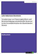 Lotte Habermann-Horstmeier: Verankerung von Chancengleichheit und Berücksichtigung soziokultureller Kontexte in den Gesundheitszielen des Bundeslandes Hessen