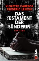 Frédéric Lenoir: Das Testament der Sünderin ★★★