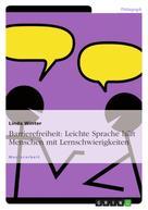 Linda Winter: Barrierefreiheit: Leichte Sprache hilft Menschen mit Lernschwierigkeiten
