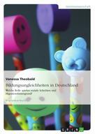 Vanessa Theobald: Bildungsungleichheiten in Deutschland