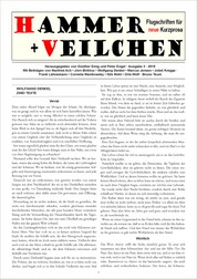 Hammer + Veilchen Nr. 3 - Flugschriften für neue Kurzprosa