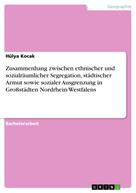 Hülya Kocak: Zusammenhang zwischen ethnischer und sozialräumlicher Segregation, städtischer Armut sowie sozialer Ausgrenzung in Großstädten Nordrhein-Westfalens