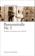 Dietmar Schmeiser: Bunsenstraße Nr. 3