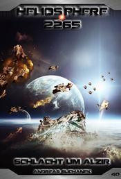 Heliosphere 2265 - Band 40: Schlacht um Alzir (Science Fiction)