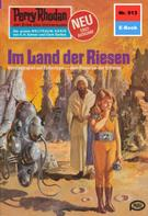 William Voltz: Perry Rhodan 913: Im Land der Riesen ★★★★★