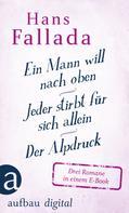 Hans Fallada: Ein Mann will nach oben / Jeder stirbt für sich allein / Der Alpdruck ★★★★★