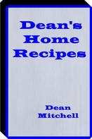 Billy Mitchell: Deans Home Recipes