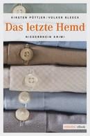 Kirsten Püttjer: Das letzte Hemd ★★★★