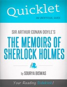 Sourya Biswas: Quicklet on Sir Arthur Conan Doyle's The Memoirs of Sherlock Holmes