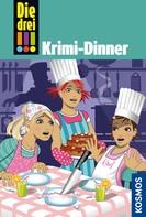 Henriette Wich: Die drei !!!, 51, Krimi-Dinner (drei Ausrufezeichen)