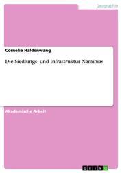 Die Siedlungs- und Infrastruktur Namibias