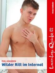 Loverboys Quickie 02: Wilder Ritt im Internat - Schwule Liebe, heißer Sex und süße Jungs