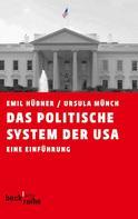 Emil Hübner: Das politische System der USA
