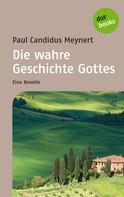 Paul C. Meynert: Die wahre Geschichte Gottes ★★★★
