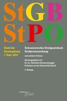 Christian Schwarzenegger: StGB/StPO