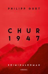 Chur 1947 (rot) - Kriminalroman