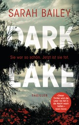 Dark Lake - Thriller