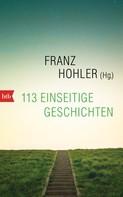 Franz Hohler: 113 einseitige Geschichten ★★★