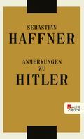 Sebastian Haffner: Anmerkungen zu Hitler ★★★★