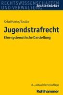Friedrich Schaffstein: Jugendstrafrecht