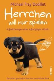 Herrchen will nur spielen - Aufzeichnungen einer aufmüpfigen Hündin Garantiert gemüsefrei illustriert von Nathalie Brink