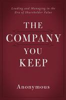 Anonymous: The Company You Keep