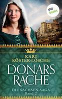 Kari Köster-Lösche: Donars Rache - Zweiter Roman der Sachsen-Saga ★★★★