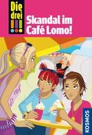 Henriette Wich: Die drei !!!, 44, Skandal im Café Lomo (drei Ausrufezeichen)