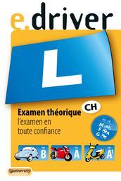 e.driver Examen théorique - l'examen en toute confiance. Cat.B, A, A1, M, F/G