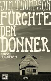 Fürchte den Donner - Roman