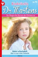 Britta Frey: Kinderärztin Dr. Martens 75 – Arztroman